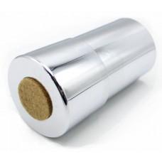 21.464.18 К Коннектор D=51мм  h100мм металл. хром. ТЕМПО