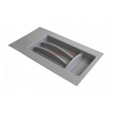 Лоток для приборов 300-350мм (281*498 - 200*370) серый