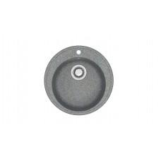 Мойка глянцевая Лексия L6G35  515х515х213мм Тем.серый  в комплекте сифон, герметик. Без фрезы VERBA