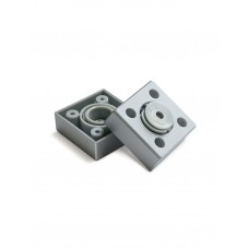 Опора Пластик регулируемая  металлик Н-20