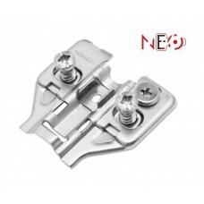 Н5030 Планка с эксц.регул. и евровинтами для петель NEO