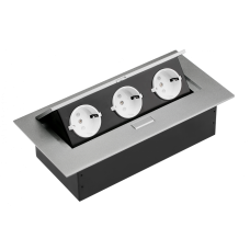 Удлинитель STB-03-80  п\\автоматический,евророзетка  А ,серый без кабеля
